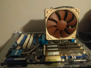 Intel i7 920 with mobo and ram