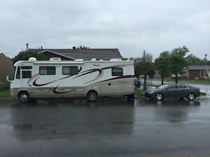 2004 coachman and 2009 malibu (tow car)