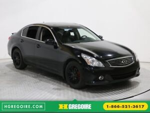 2012 Infiniti G37 Luxury AWD MAGS A/C BLUETOOTH CUIR TOIT OUVRAN