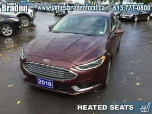 2018 Ford Fusion SE  - Navigation - Leather Seats