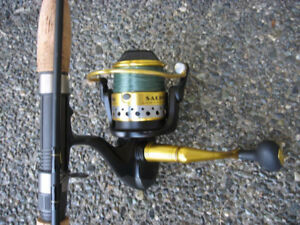 Rod and Reel for Salt Water Fishing