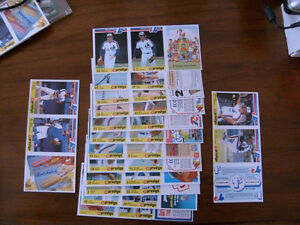 CARTE DE BASEBALL CARDS SPORTS 1986 EXPOS PROVIGO 50 MINT SETS