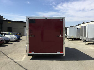 6' x 12' V-Nose Cargo Trailer • 3 Year Warranty • Made in Canada Kitchener / Waterloo Kitchener Area image 5
