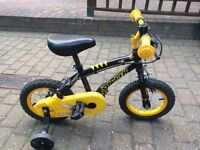 "Kids bike. 12"" wheels 2-4yrs"