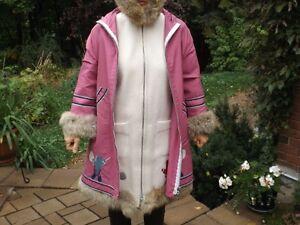 Inuit wool winter coat / Manteau de laine style inuit