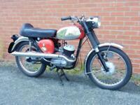 BSA Bantam D14B Sport 175cc 1968 Matching Frame & Engine Numbers