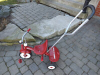 Radio Flyer Deluxe Steer & Stroll Tricycle FOR SALE