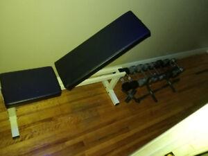 Banc de musculation Banc d'entraînement bench