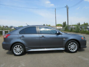 2011 Mitsubishi Lancer GTS SPORT PKG-LEATHER-SUNROOF-5 SPEED
