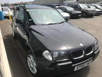 BMW X3 2.0d DIESEL SPORT 2005 . Sensors. Long MOT. CHEAP TAX.