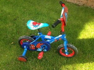 "10"" kids Spider-Man bike"