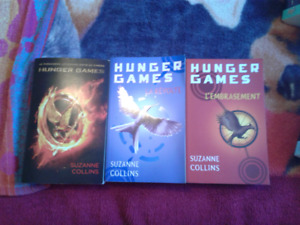 Hunger Games 3 tomes