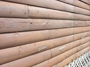 Quantity of used Log Cabin Wood Siding for sale