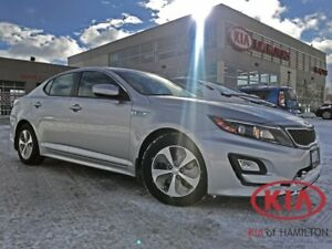 2014 Kia Optima Hybrid | Low KM | Fuel Efficient