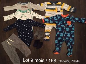 6-9 month baby clothes boy or unisex