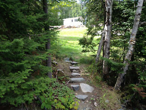 Beautiful waterfront lot on Lac des Quinze (BRAND NEW Driveway!)
