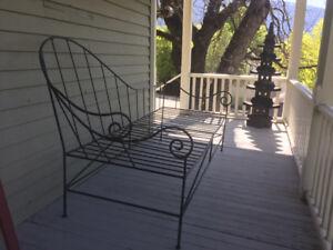 Custom Iron Day Bed / Lounge