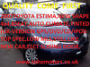 57-Reg Toyota Previa 2.4 ESTIMA,Lucida,*4WD* GPS/DVD/CD/IPOD,R/CAMERA,ESSEX, Dagenham, London
