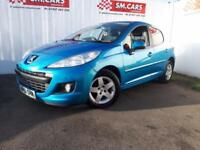 2012 61 PEUGEOT 207 1.4 SPORTIUM 5DOOR,GORGEOUS COLOUR,ANY PX WELCOME,NEW CLUTCH