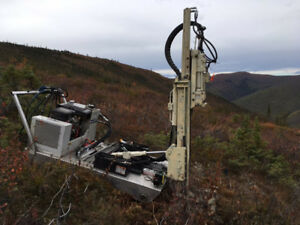 GeoProbe 420M Tracked Drill Rig