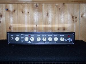 Fender Bass head