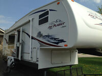 2007 Jayco Jay Flight 27.5 RKS 5th Wheel Excellent Condition