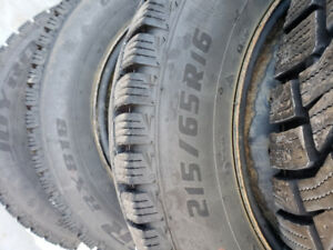 Winter Tires - 215/65R16