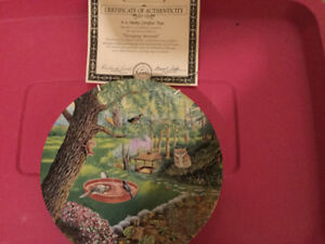 Limited Edition Collectors Plates