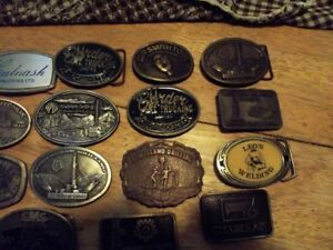 all oil patch belt buckels