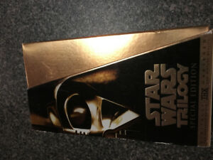 Star Wars Trilogy Limited Edition VHS Collection Episode 4-5-6
