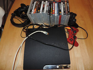 PS3 with 24 games