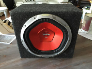 """Sony Xplod 12"""" Sub-woofer and enclosure"""