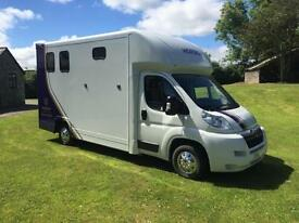 SOLD*** Horsebox Contact us for more options John Oates LWB Brand New Conversion