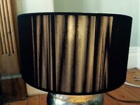 Black Habitat lamp shade