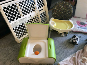 High Chair, Boon Potty