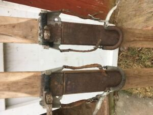 Very Old wooded skis(Collectors)