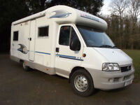ADRIA CORAL 650sp 2005 4 BERTH FIXED REAR BED IN EXCELLENT CONDITION, LOW MILES