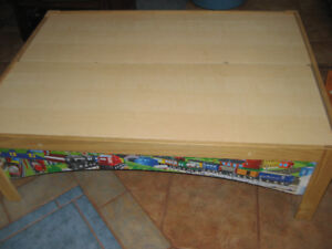 low childs table to play games on