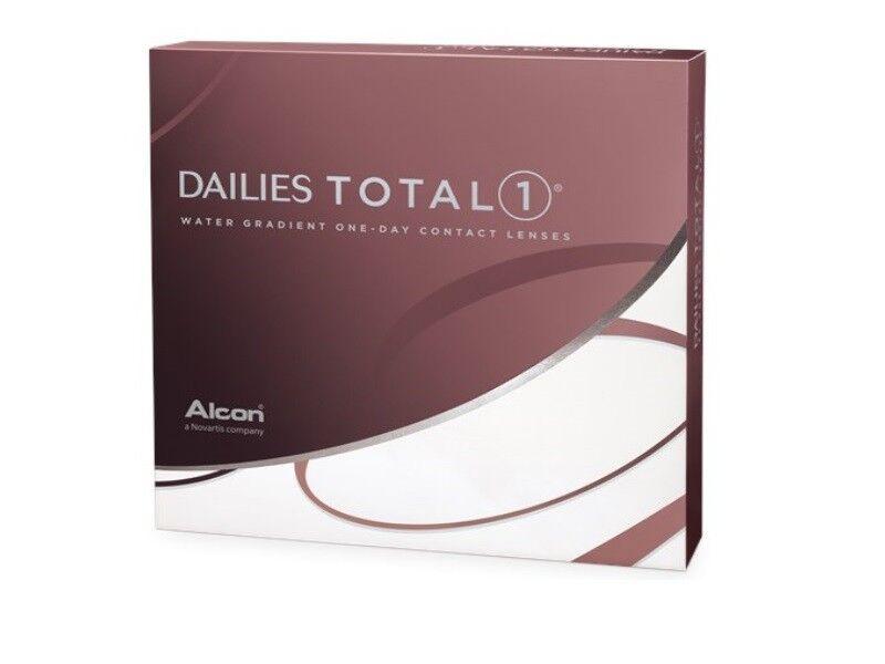 Dailies Total 1 Kontaktlinsen 1x90  ALCON Tageslinsen