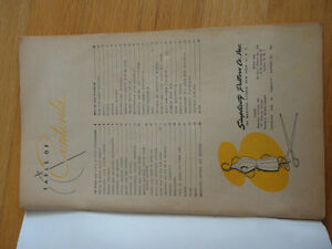 Vintage 1945 Simplicity Sewing Book for Beginners and Experts 68 London Ontario image 2