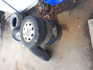5 Rims And Tires Honda Crv