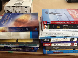 NEW College textbooks Business Law/Admin/Math/Accounting
