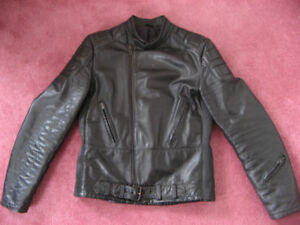 Motorcycle Leather Riding Jacket and Pants