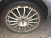 Vw golf mk4 R32 18 inch alloy Oz racing wheels and tyres
