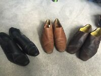 3 pairs of fly shoes size 7