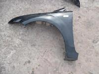 FORD FOCUS 2005-2008 FRONT WINGS IN BLACK