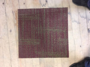 RED CARPET TILE - WAREHOUSE SALE - PRICE PER SQUARE YARD