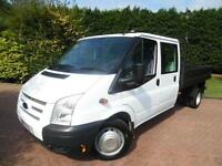 2014/64 Ford Transit T350 2.2TDCI LWB DOUBLE CAB TIPPER
