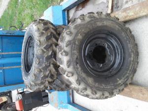 Maxxis quad tires