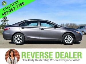 2017 Toyota Camry LE  Local vehicle, Accident free, Back-up came